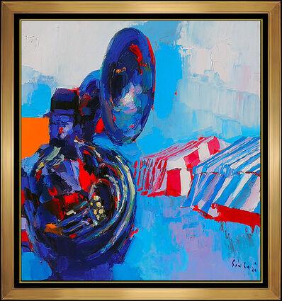 Nicola Simbari, 'Nicola Simbari Large Original Oil Painting On Canvas Hand Signed Italian Artwork', 20th Century