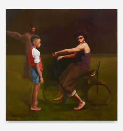Sylvia Maier, 'The Bicycle Thief', 2020