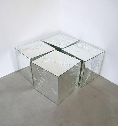 Jeppe Hein, 'Broken Mirror Cubes', 2005