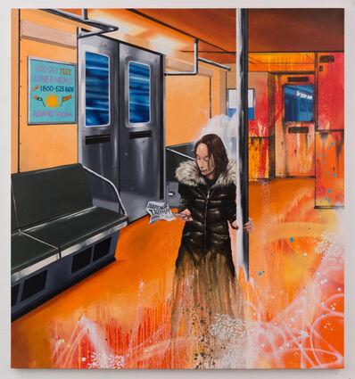 Chris DAZE Ellis, 'April in the Subway', 2017