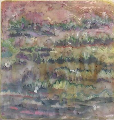 Stella Foerster, 'hot glue landscape', 2019