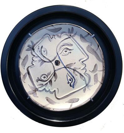 Pablo Picasso, 'Quatre profils enlacés', 1949