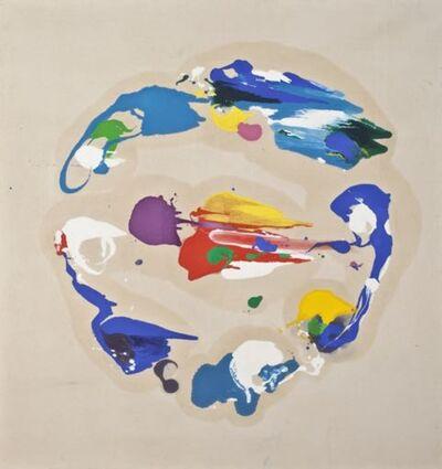 Charles Schucker, 'Blue Circular', 1982