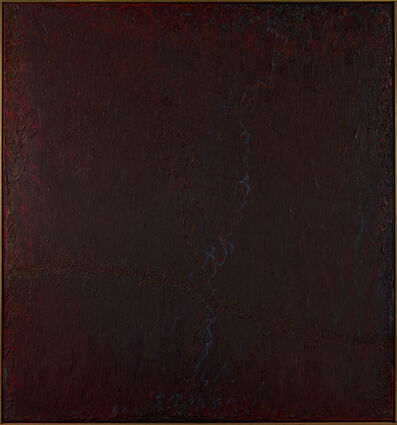 Stanley Boxer, 'Tendrilsplashedwinterspastnewly', 1979