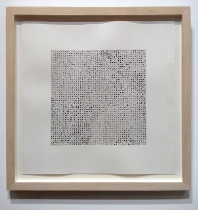 Teo Gonzalez, '2500 Drops of Ink #2', 1995