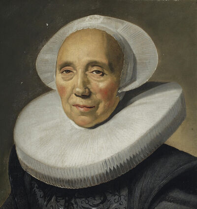 Frans Hals, 'Portrait of an old woman'