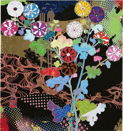 Takashi Murakami, 'MIYABI (KORIN: COURTLY ELEGANCE)', 2021
