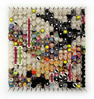 Jacob Hashimoto, 'The Garden of Cosmic Violence', 2018
