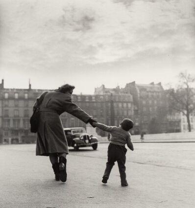 Louis Stettner, 'Crossing the Seine', 1951