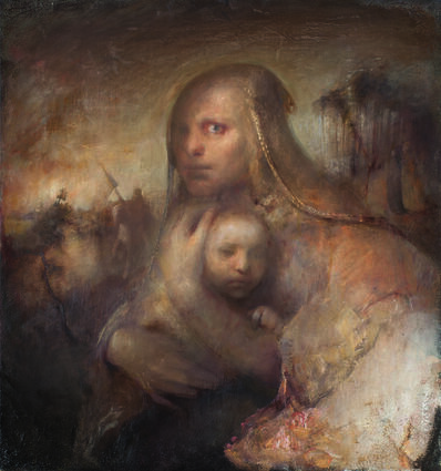 Odd Nerdrum, 'Frenzied Woman'