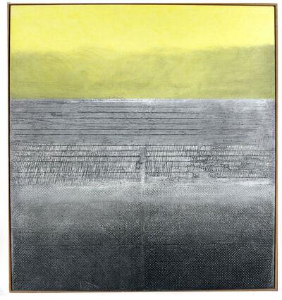 José Antonio Fernández-Muro, 'Amarillo sobre gris', 1984
