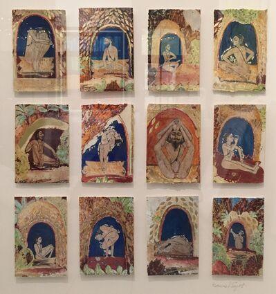 Katherine Virgils, 'Yogi Miniature Grid III', 2015
