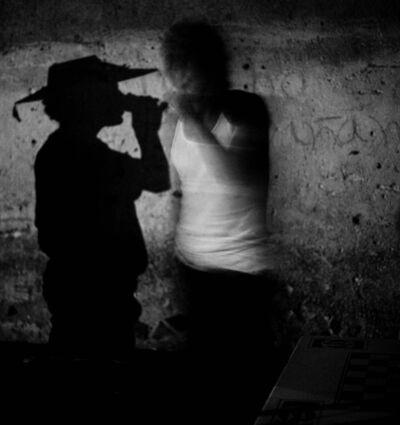 Debbie Fleming Caffery, 'Shadow Drinking, Mexico', 1996