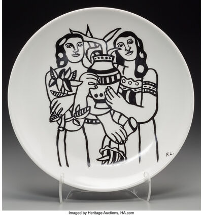 After Fernand Léger, 'Untitled (Women with plants)'
