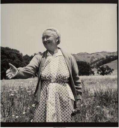 Dorothea Lange, 'Woman from Berryessa Valley', 1956
