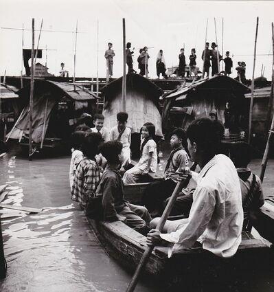 Agnès Varda, 'Canton (Chine), écoliers dans une embarcation 2', 1957