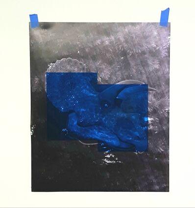 Oscar Figueroa, 'Blue Triceratops', 2020