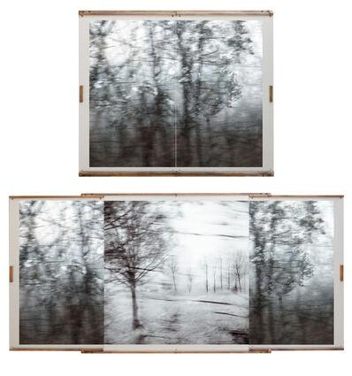 Amandine Nabarra, 'Voyages (en train) diptych', 2014