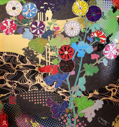 Takashi Murakami, 'Korin Courtly: Elegance', 2020