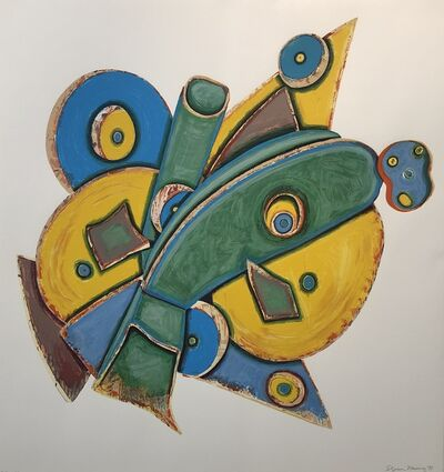 "Elizabeth Murray, '""The Clock""', 1993"