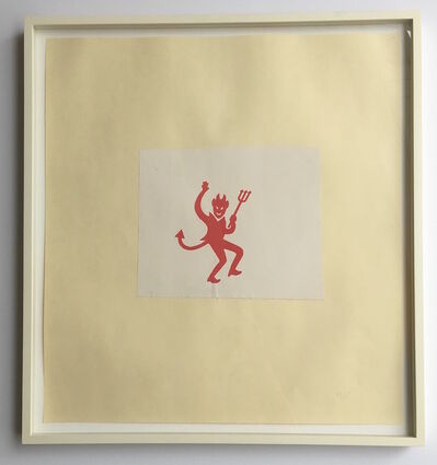Robert Therrien, 'Untitled (Devil)', 2006 -08
