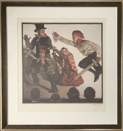 Norman Rockwell, 'School Play', 1983