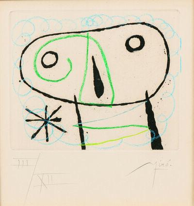 Joan Miró, 'Image from the Suite La bague d'aurore', 1957