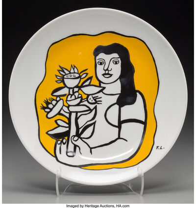 After Fernand Léger, 'Untitled (Woman in yellow)', circa 1970s