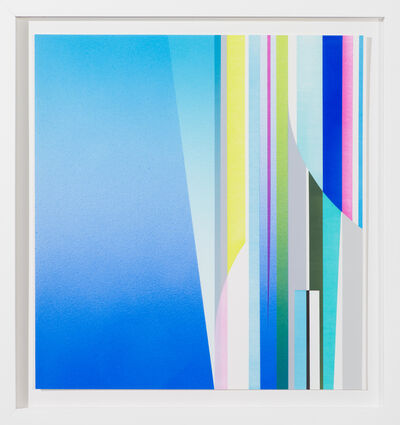 Dion Johnson, 'Introduction (blue)', 2020