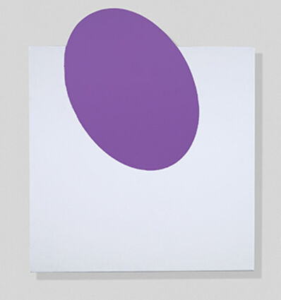 John Goodyear, 'Purple, On and Off', 2018