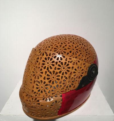 Debanjan Roy, 'Helmet (Red)', 2016