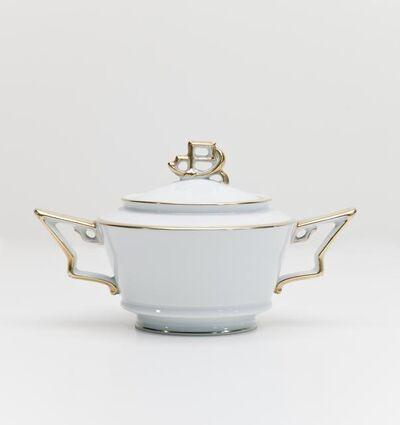 Friedrich Fleischmann, 'Tirana Sugar Bowl with Lid', 1927