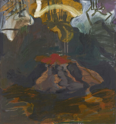 "Per Kirkeby, '""Untitled""', 1989"