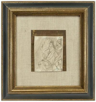 Jules Pascin, 'Untitled (Study of Two female Figures ) Jules Pascin Pencil, 1913', 1910-1919