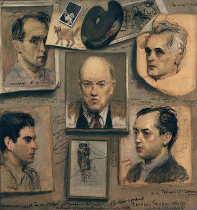 Raphael Soyer, 'Imaginary Wall in My Studio', 1945
