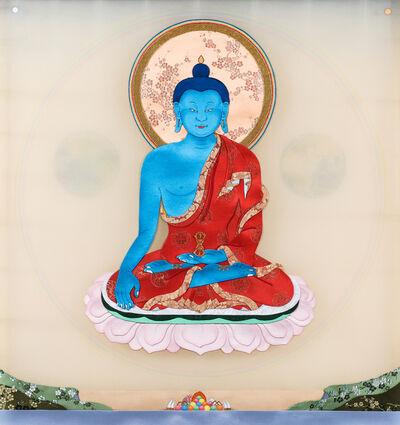 Leslie Nguyen Temple, 'Budhha Akshobhya 阿眾佛', 2017-2018