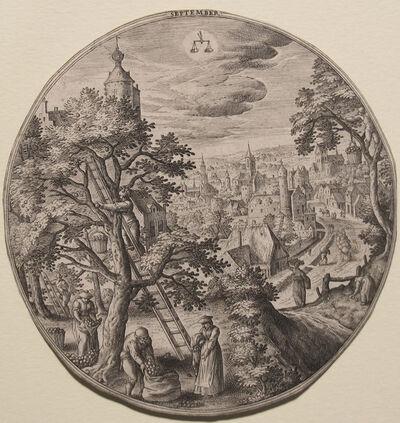 Hans Bol, 'September', 1500's
