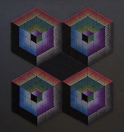 Franco Costalonga, 'Oggetto Quadro su Gradienti di Luminosità', 1994