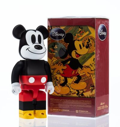 BE@RBRICK X Disney, 'Mickey Mouse 400%', 2009