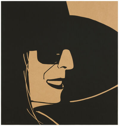 Alex Katz, 'Large Black Hat Ada (Kraft)', 2013