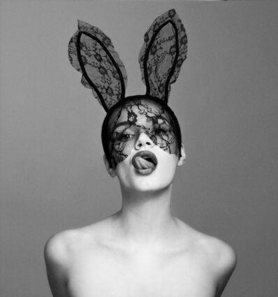 Tyler Shields, 'Bunny Tongue', 2019