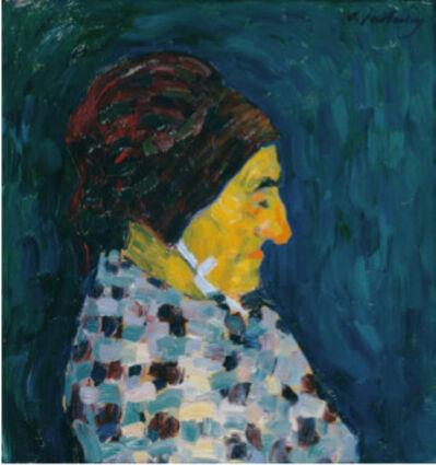 Alexej von Jawlensky, 'Portrait de Madame Sid', ca. 1905