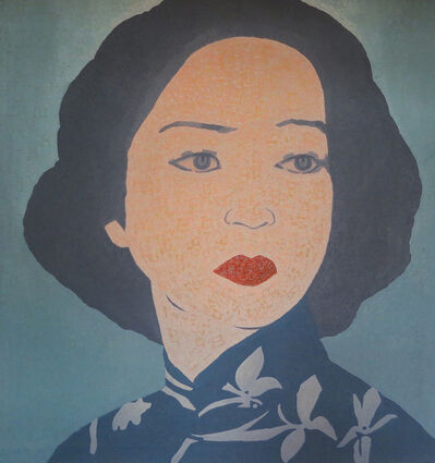 Junqing Wu, 'Blue Lady', 2005