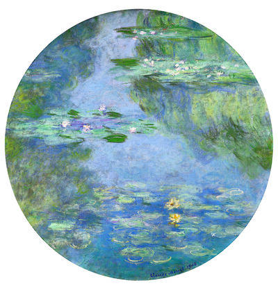 Claude Monet, 'Water Lilies', 1908