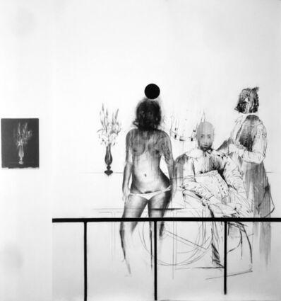 Bernardí Roig, 'Tableau Vivant V (G.G., Mademoiselle de Volanges, La femme auvent et le bouquet noir)', 2017