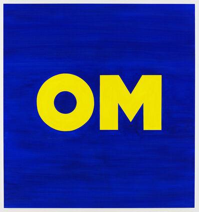 Deborah Kass, 'OM', 2013