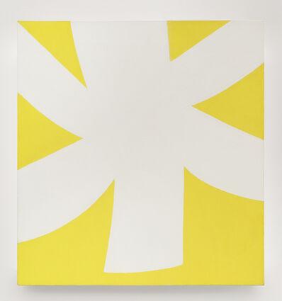 Ellsworth Kelly, 'White Yellow', 1957-1958