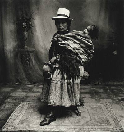Irving Penn, 'Cuzco Mother (woman) with High Shoes', 1948