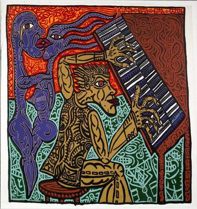 Robert Combas, 'Le Pianiste', 1989