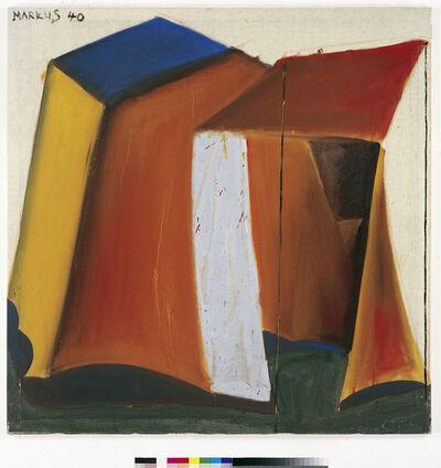 Markus Lüpertz, 'Zelt 40 - dithyrambisch (Tent 40 - dithyrambic)', 1965